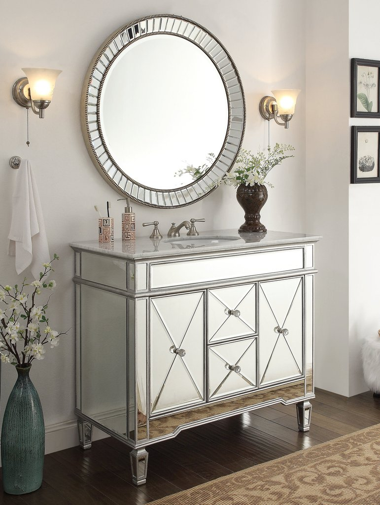 Lovely Chans Furniture Styles | Astounding Mirrored Bathroom Vanities