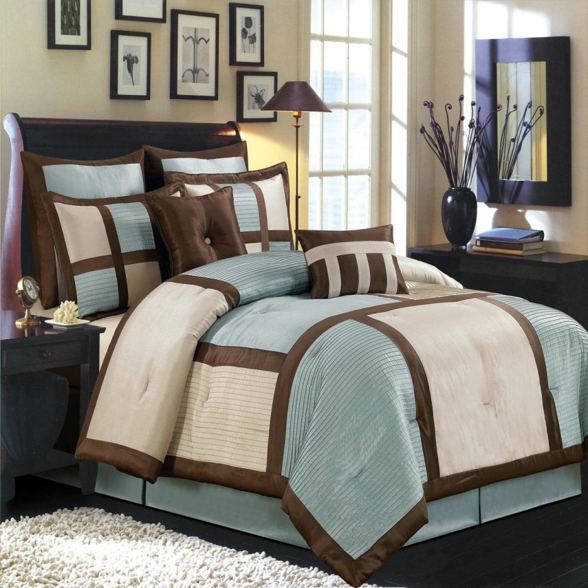 Luxury Comforter Sets | Bed Bath And Beyond Duvet | Pintuck Bedding