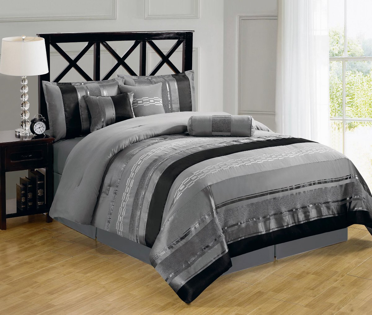 Bedroom Using Luxury Comforter Sets For Wonderful Bedroom