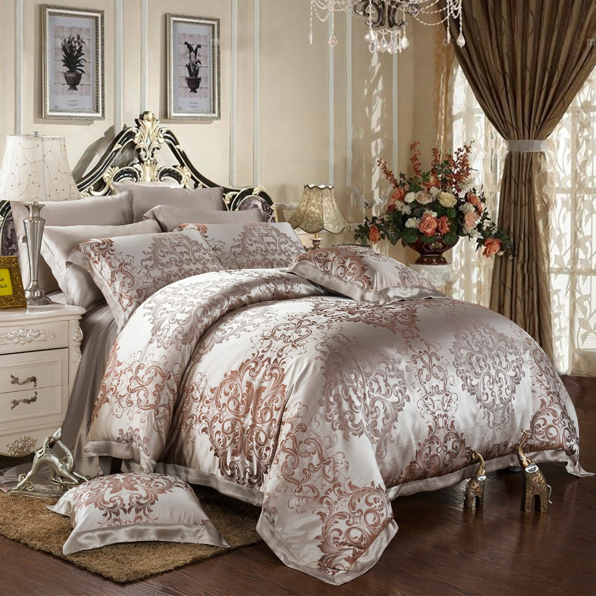 Luxury Comforter Sets | Colorful Bedspreads | Cheap Queen Comforter Sets