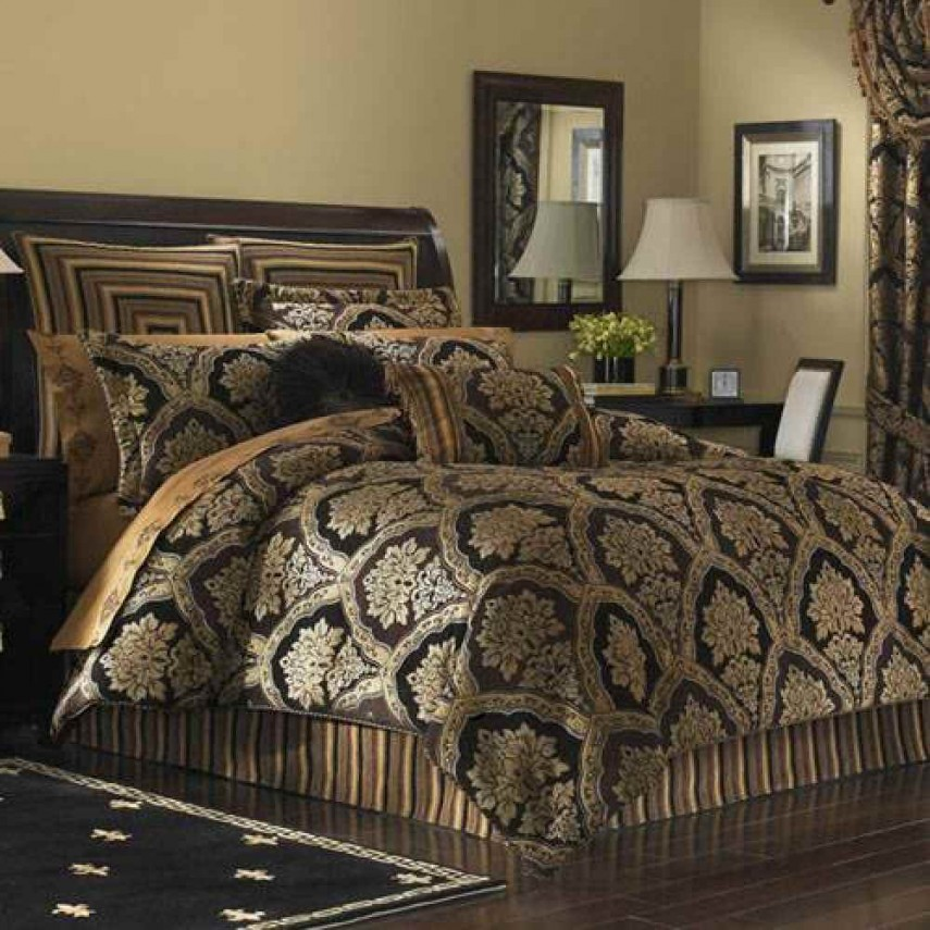 Luxury Comforter Sets | Rose Gold Bedding | Tahari Bedding Collection