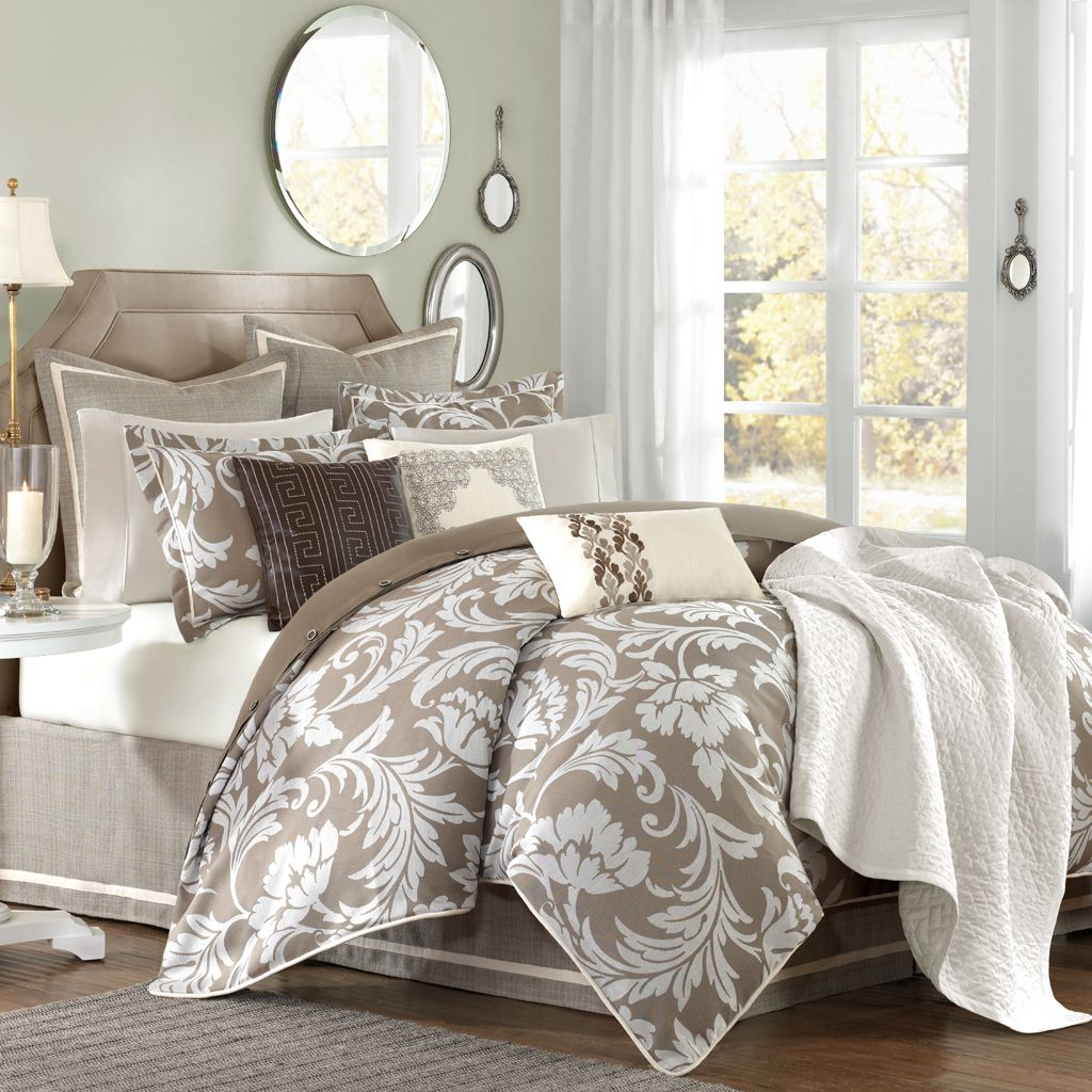 Luxury Twin Comforter Sets | Luxury Comforter Sets | Ruffled Bedspread