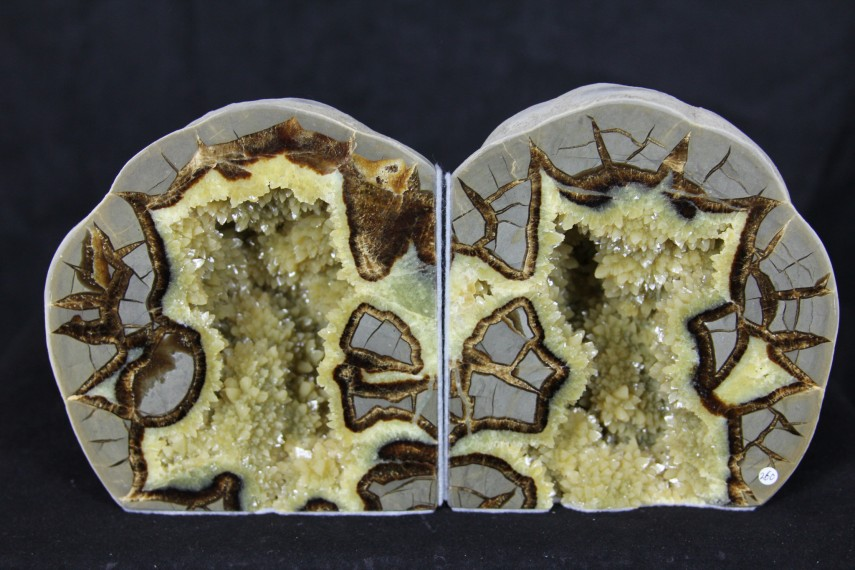 Magnificent Geode Bookends | Incredible Agate Geode Bookends