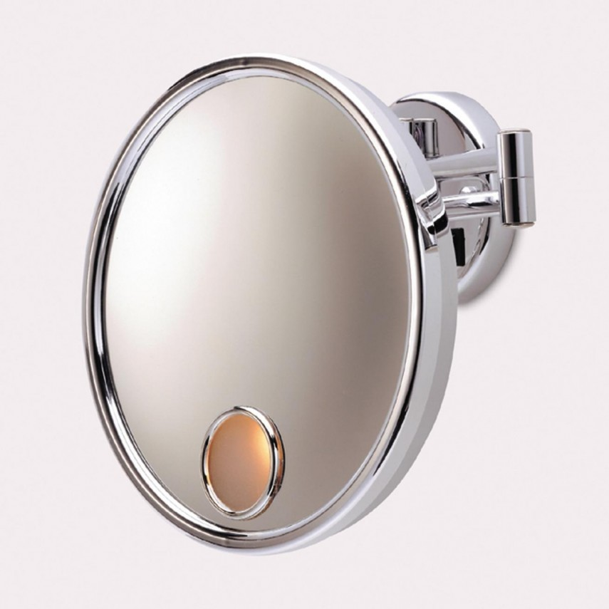 Magnifying Mirror Wall Mount | Large Lighted Makeup Mirror | Best Lighted Makeup Mirror