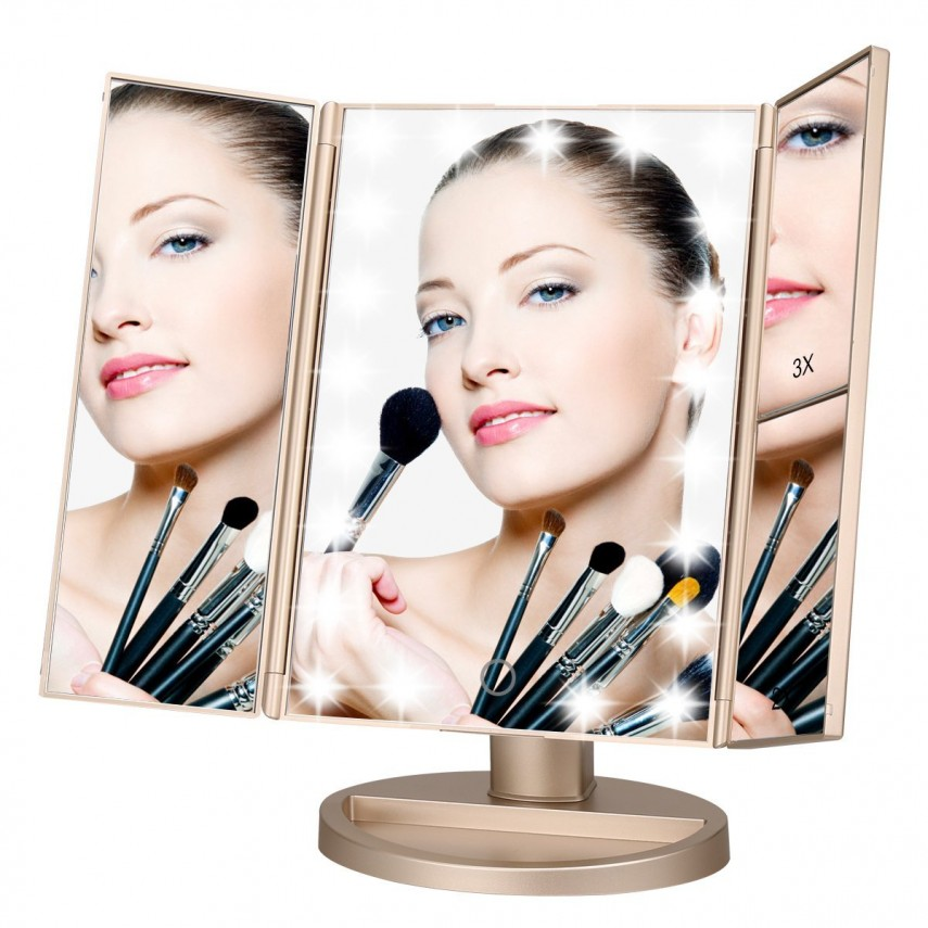 Magnifying Mirror Wall Mount | Lighted Vanity Mirrors | Best Lighted Makeup Mirror