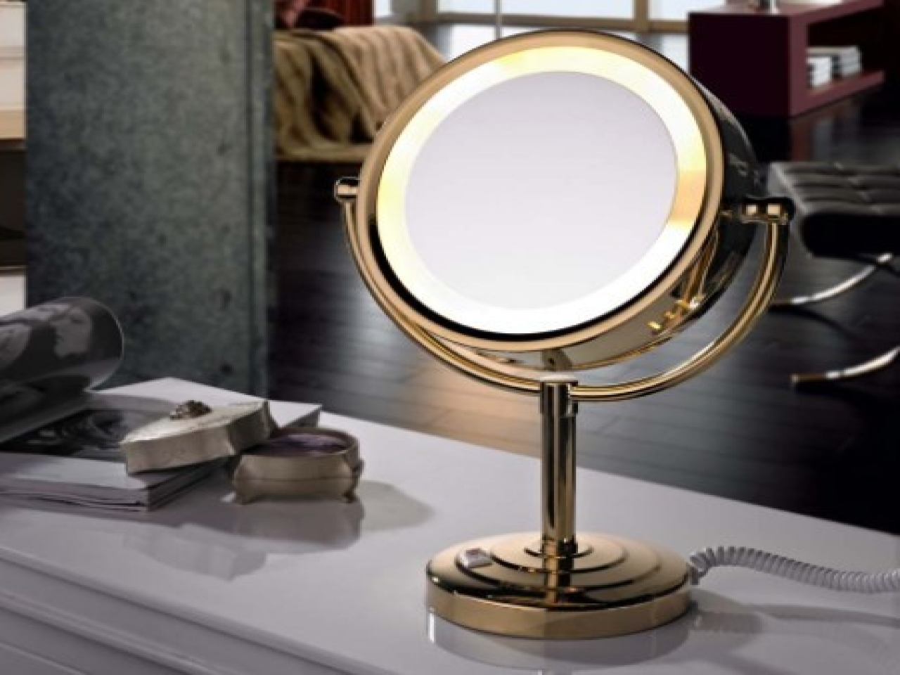 Makeup Vanity Mirror | Best Lighted Makeup Mirror | Lighted Makeup Mirror Wall Mounted