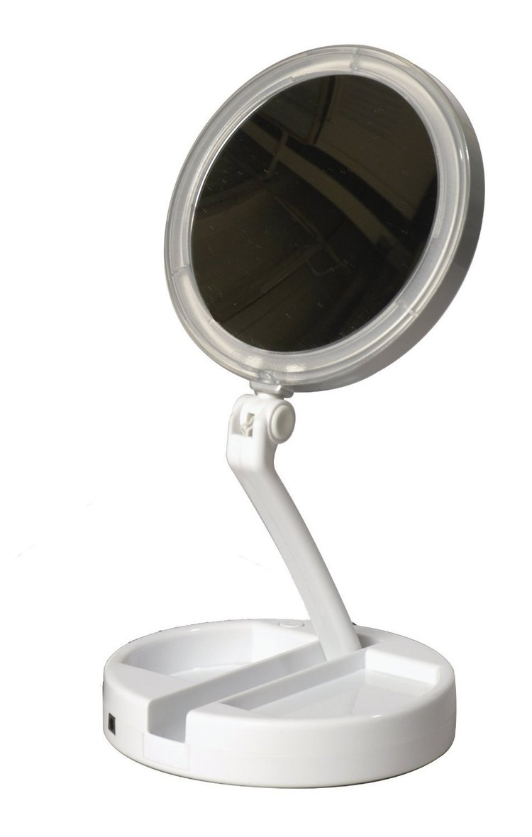 Makeup Vanity with Lighted Mirror | Best Lighted Makeup Mirror | Wall Mounted Lighted Makeup Mirror