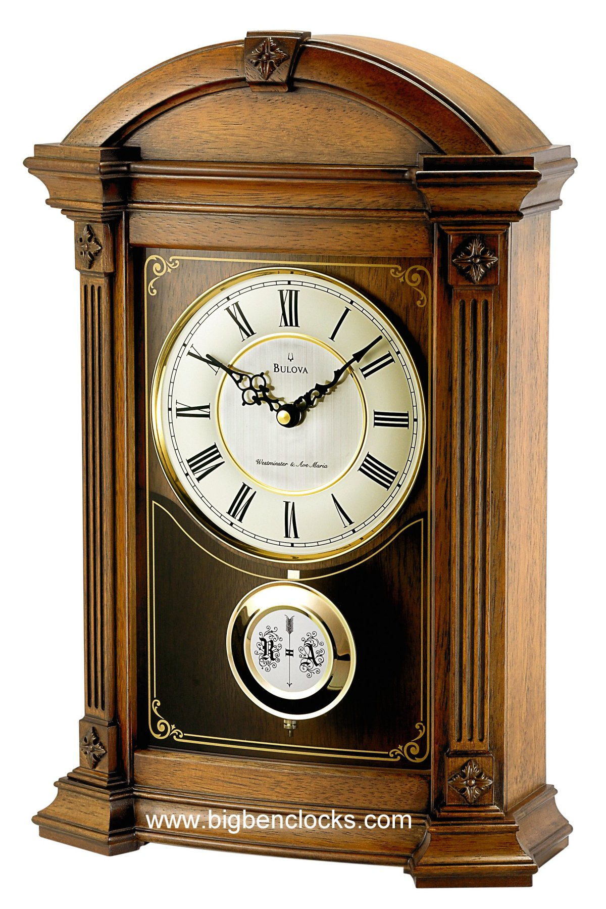 Mantle Clock Styles | Bulova Mantel Clock | Modern Mantel Clocks