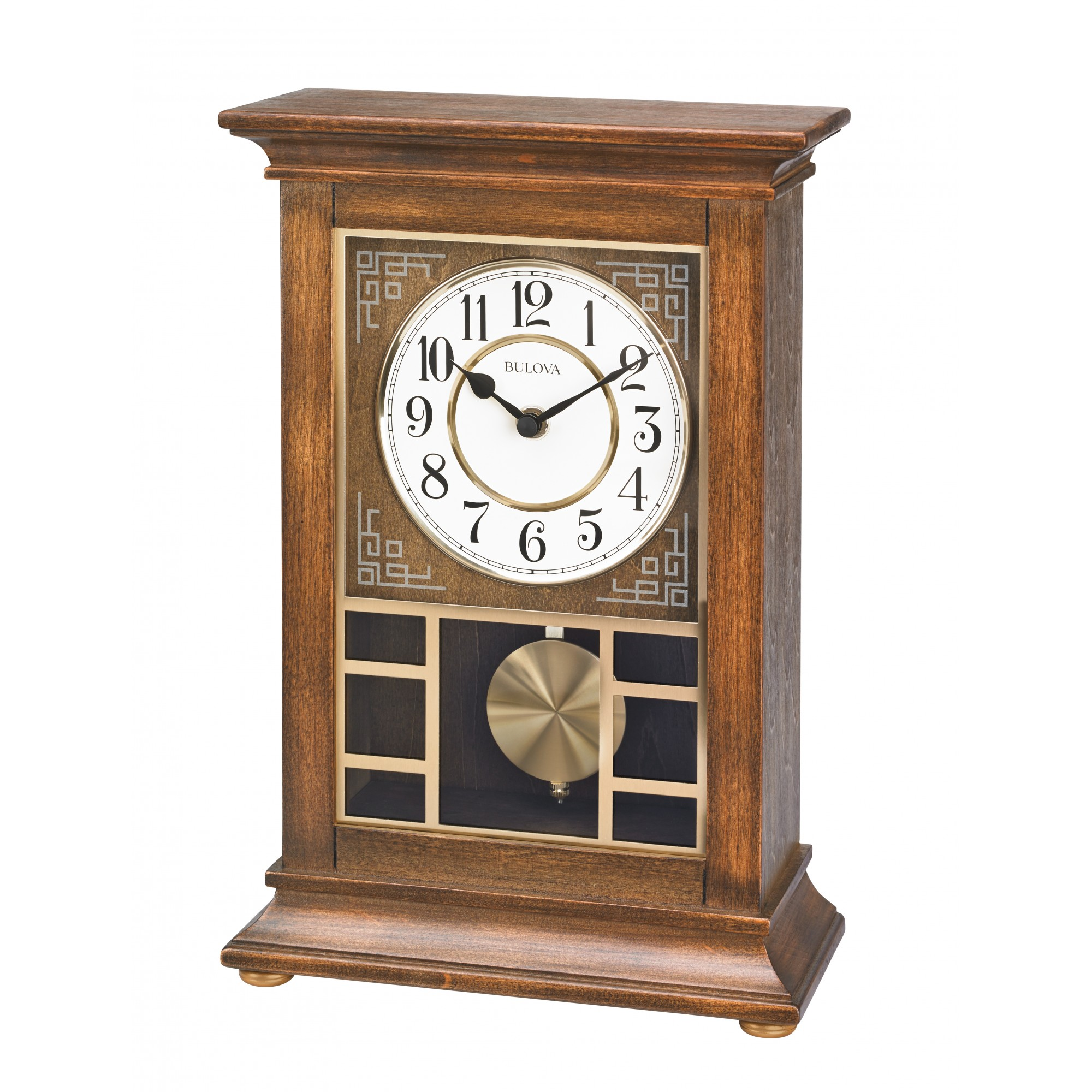 Mantle Clocks | Bulova Mantel Clock | Bulova Quartz Wall Clock