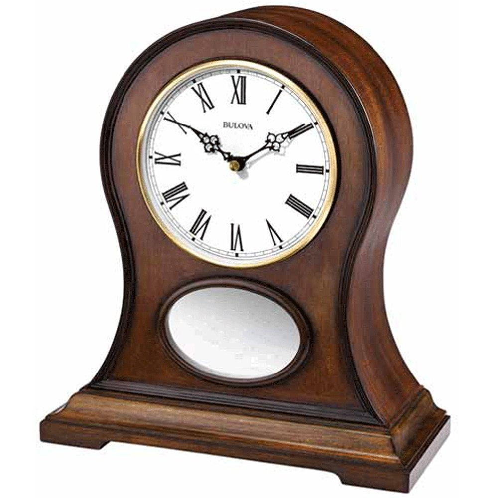 Mantle Piece Clock | Bulova Alarm Clocks | Bulova Mantel Clock
