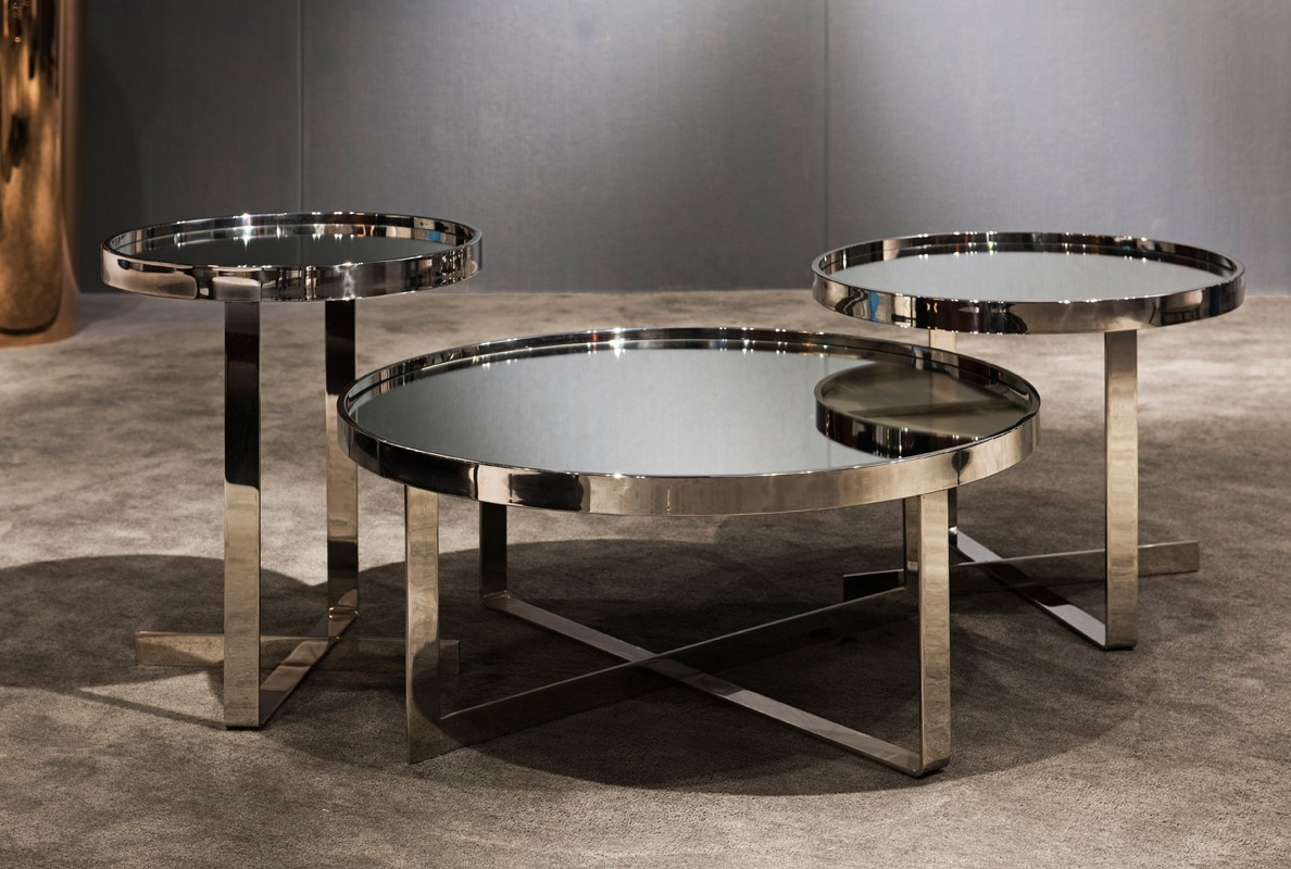 Marble Coffee Tables | Mirrored Coffee Table | Mirrored Side Tables