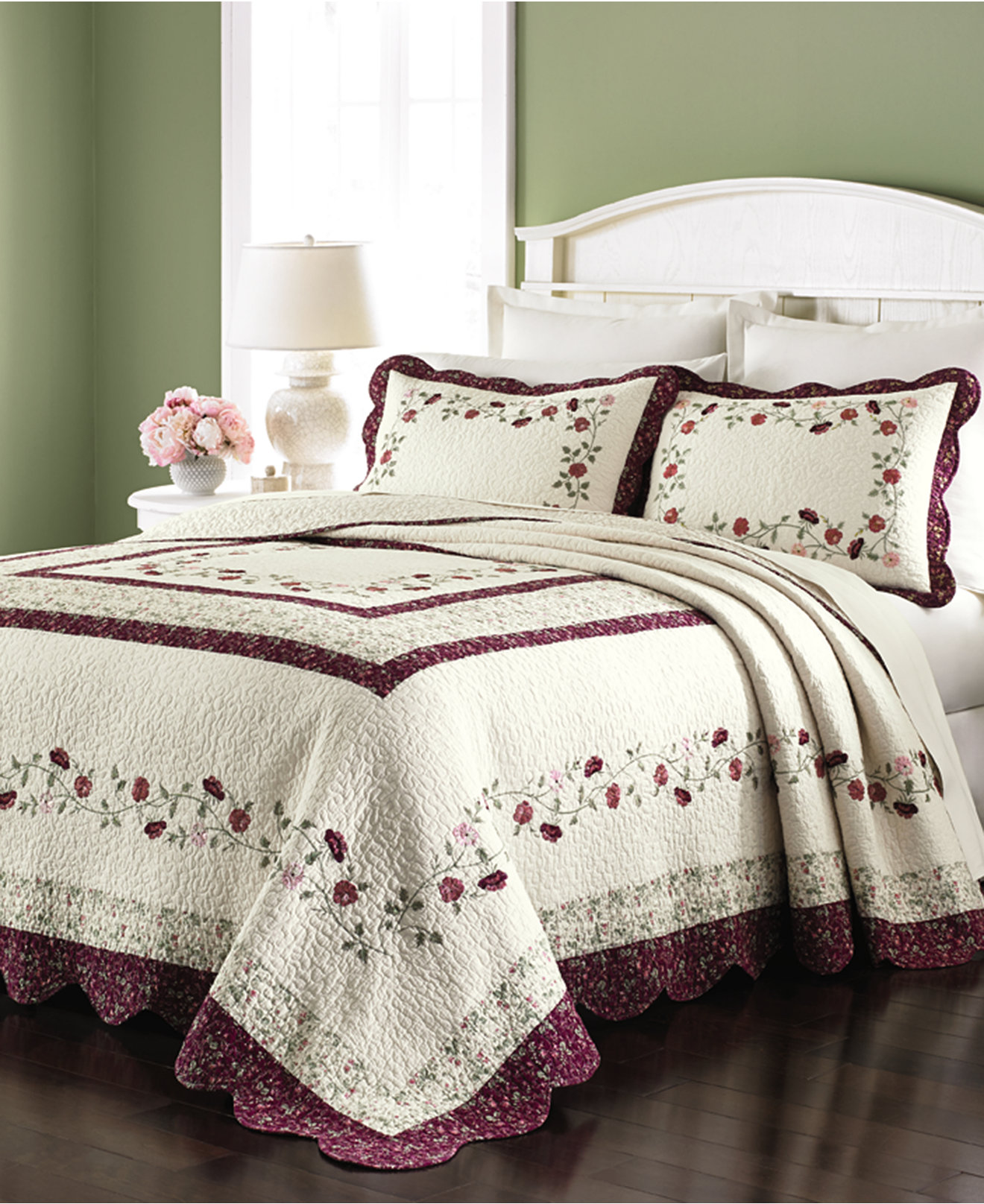 Maroon Bedding | Pier One Bedding | Queen Bedspreads