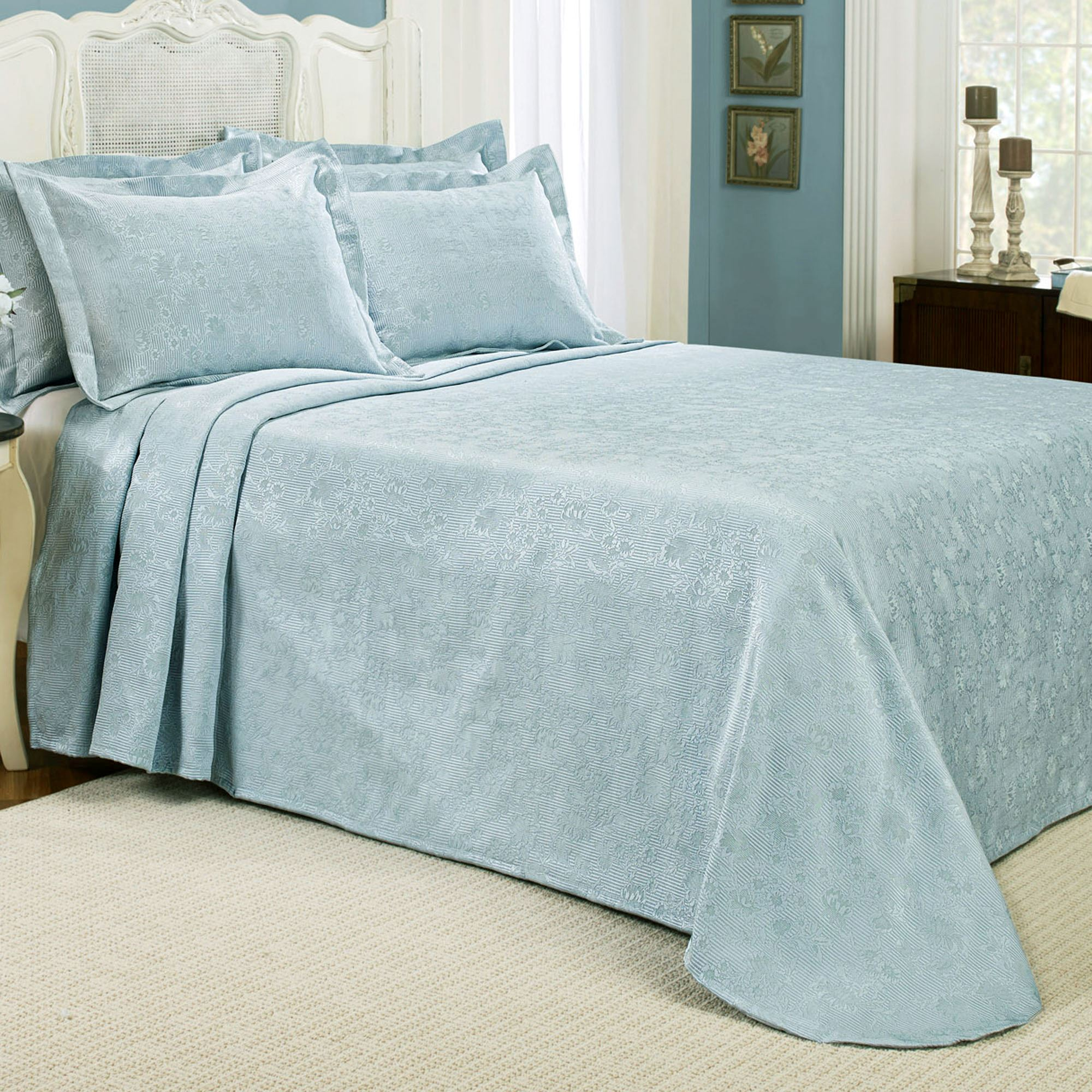 Matelasse Bedspreads | Chenille Bedspread | Old Fashioned Bedspreads