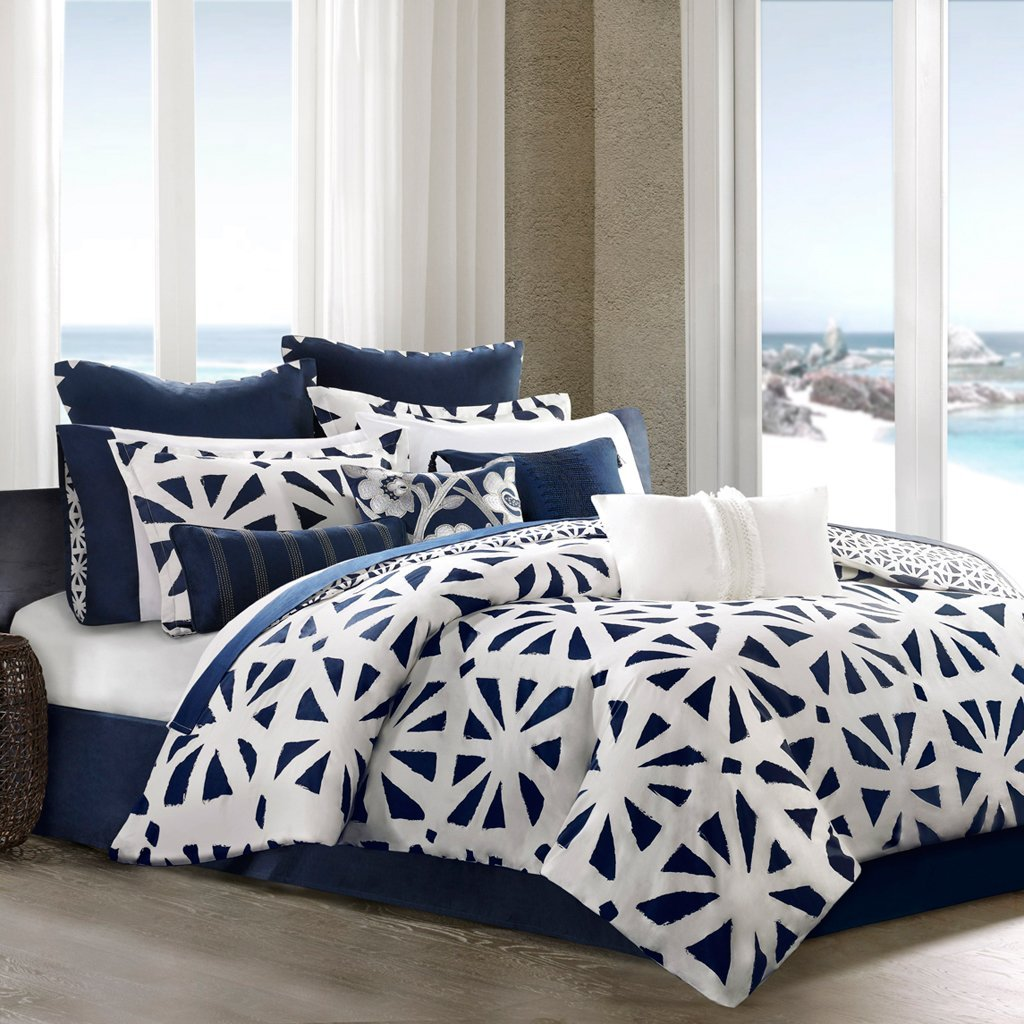 Mens Comforters | King Size Comforter Amazon | Navy Blue Comforter