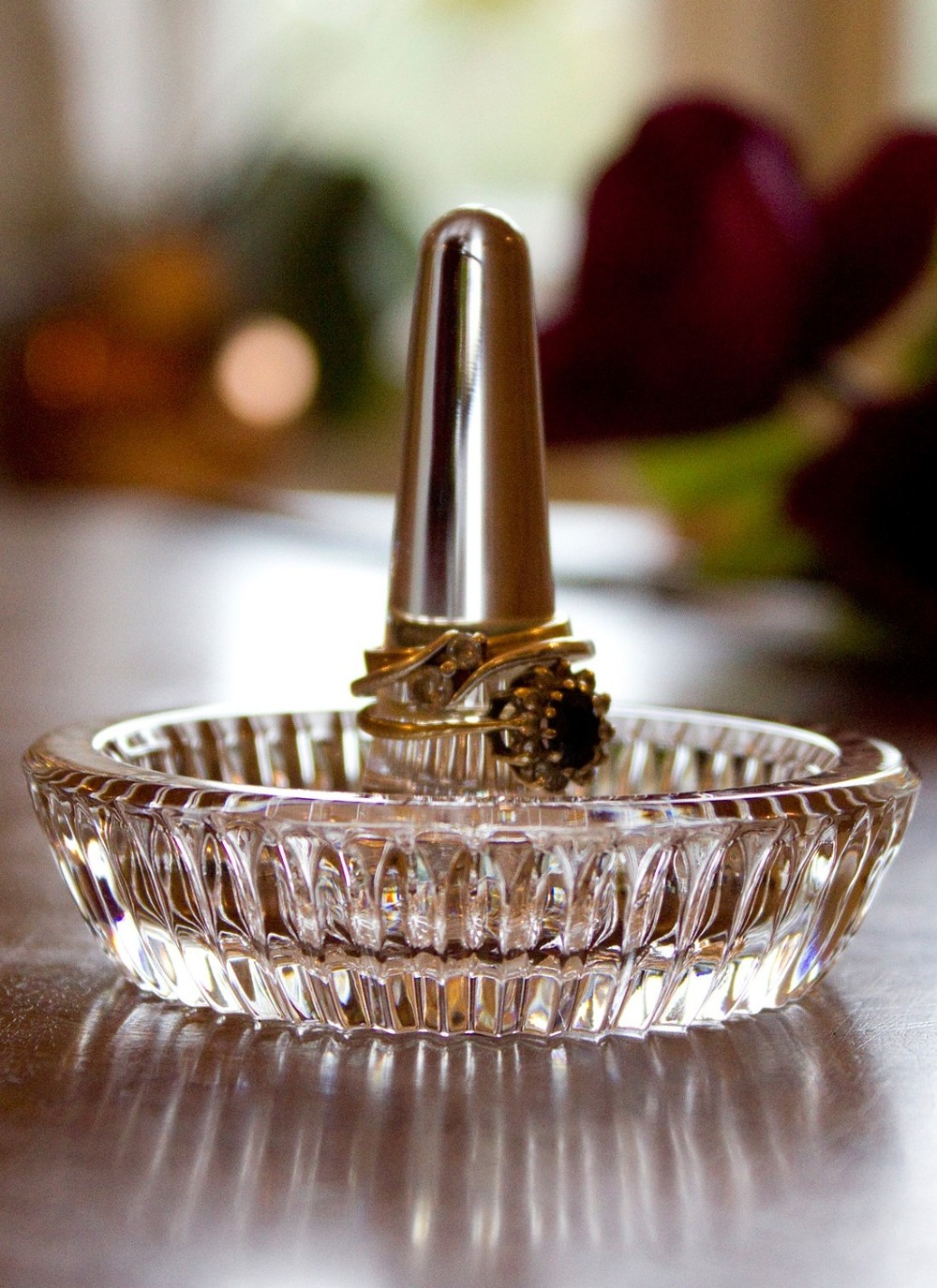 Mesmerizing Waterford Ring Holder | Astounding Waterford Crystal Ring Holders