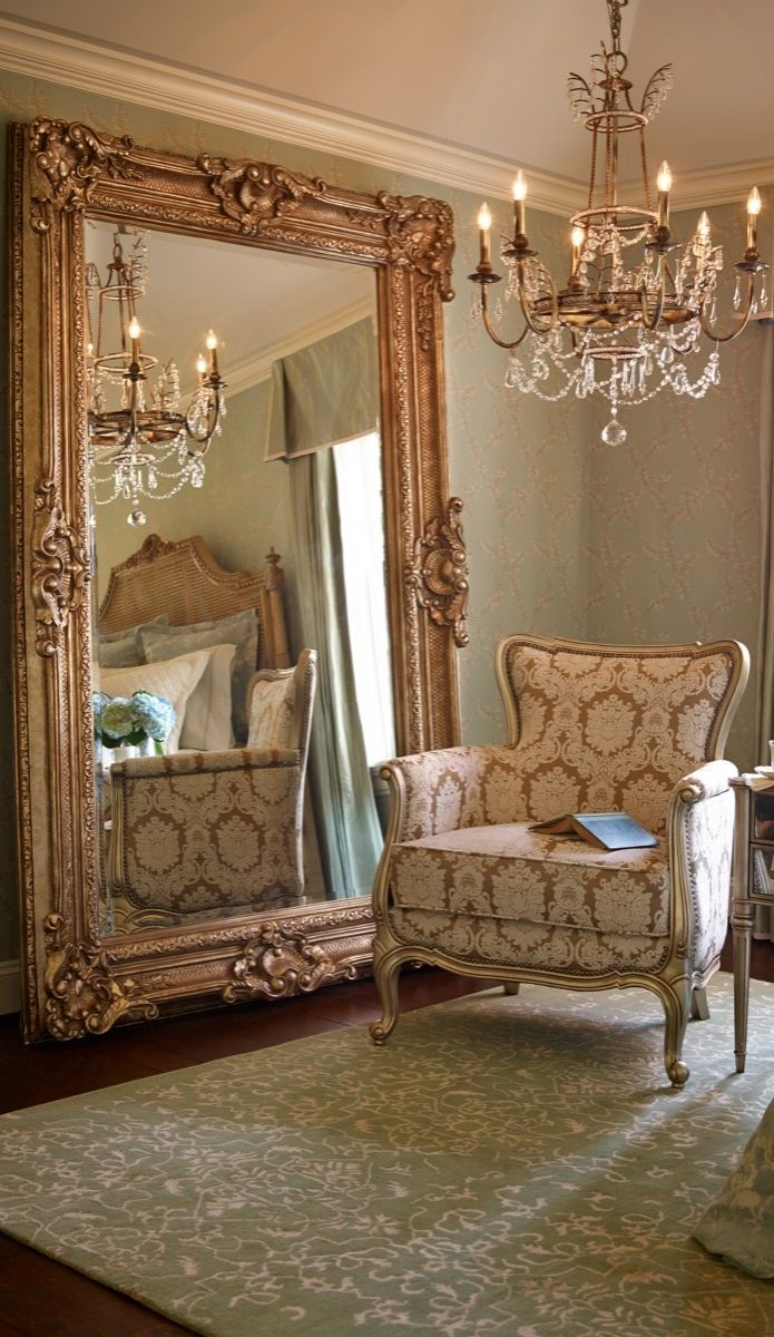 Bedroom appealing oversized mirrors for home decoration for Decorative floor length mirrors