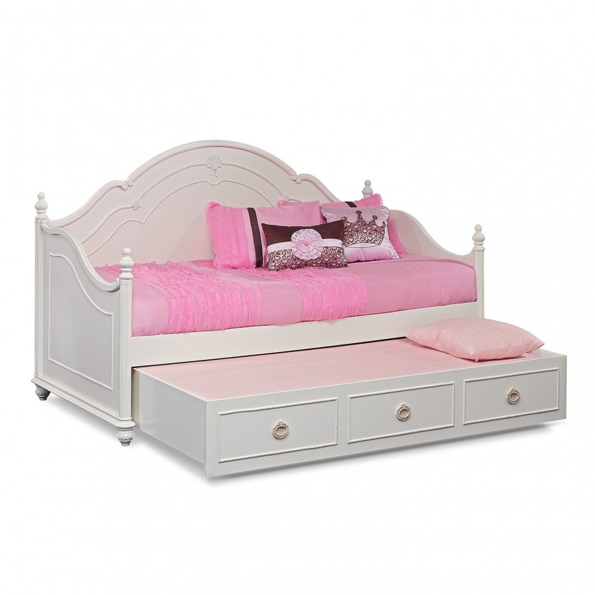 Metal Trundle Bed | Modern Day Bed | Full Size Daybed With Trundle
