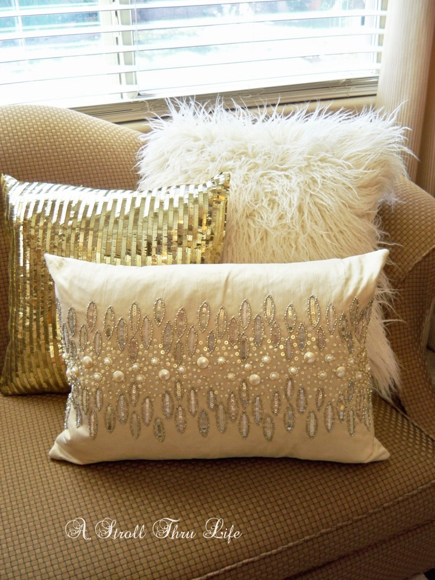 Metallic Pillows | Cheap Throw Pillows | Gold Throw Pillows