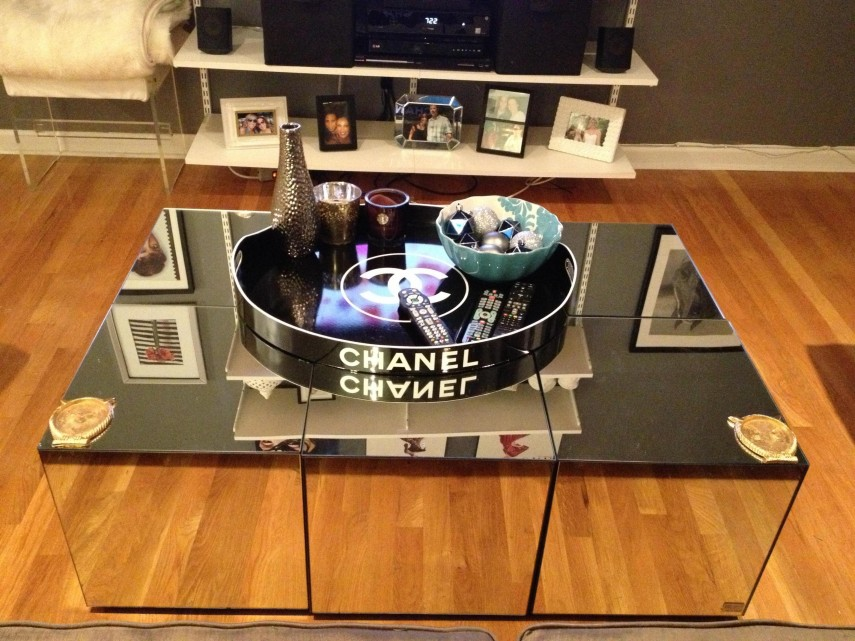 Mirrored Coffee Table | Mirrored Accent Tables | Mirror Coffee Table Ikea