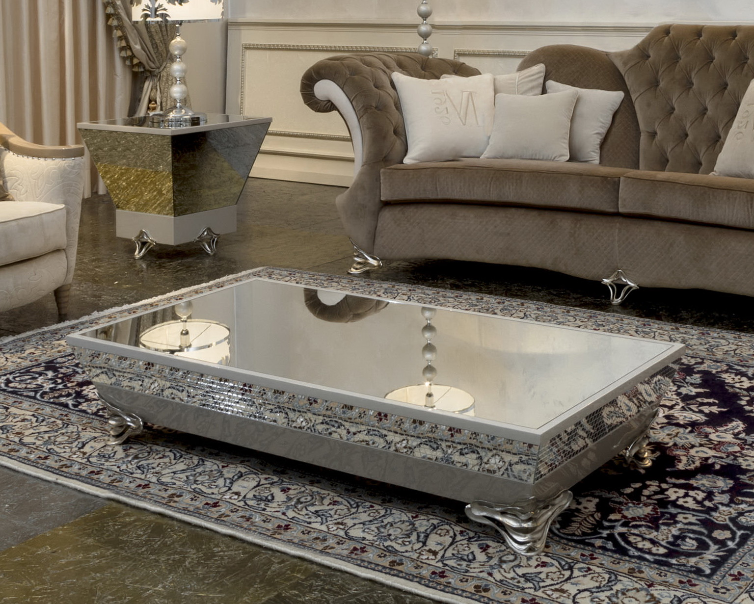 Mirrored Coffee Table | Mirrored End Tables | Mirror Coffee Tables