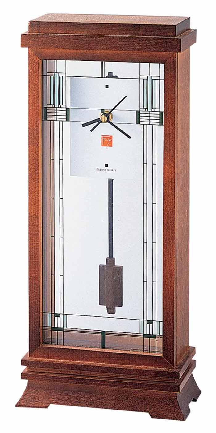 Modern Mantel Clock | Bulova Mantel Clock | Modern Mantle Clock