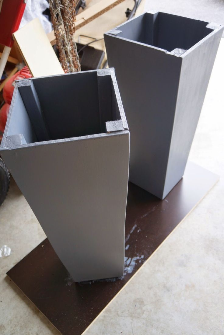 Modern Planters | Tall Outdoor Planter | Tall Planters