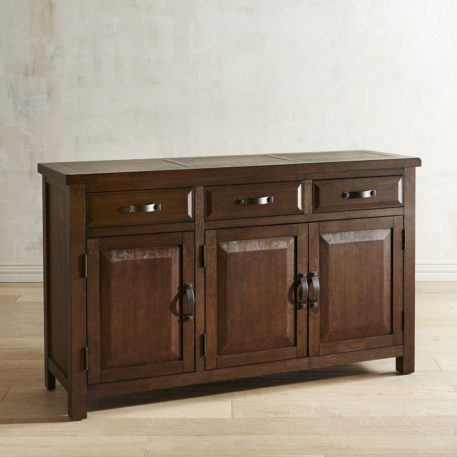 Furniture interesting buffets and sideboards for home for Table buffet