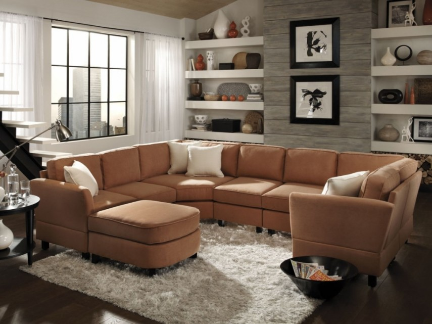 Modular Sofa | Large Sectional Sofas | U Shaped Sectional Sofa