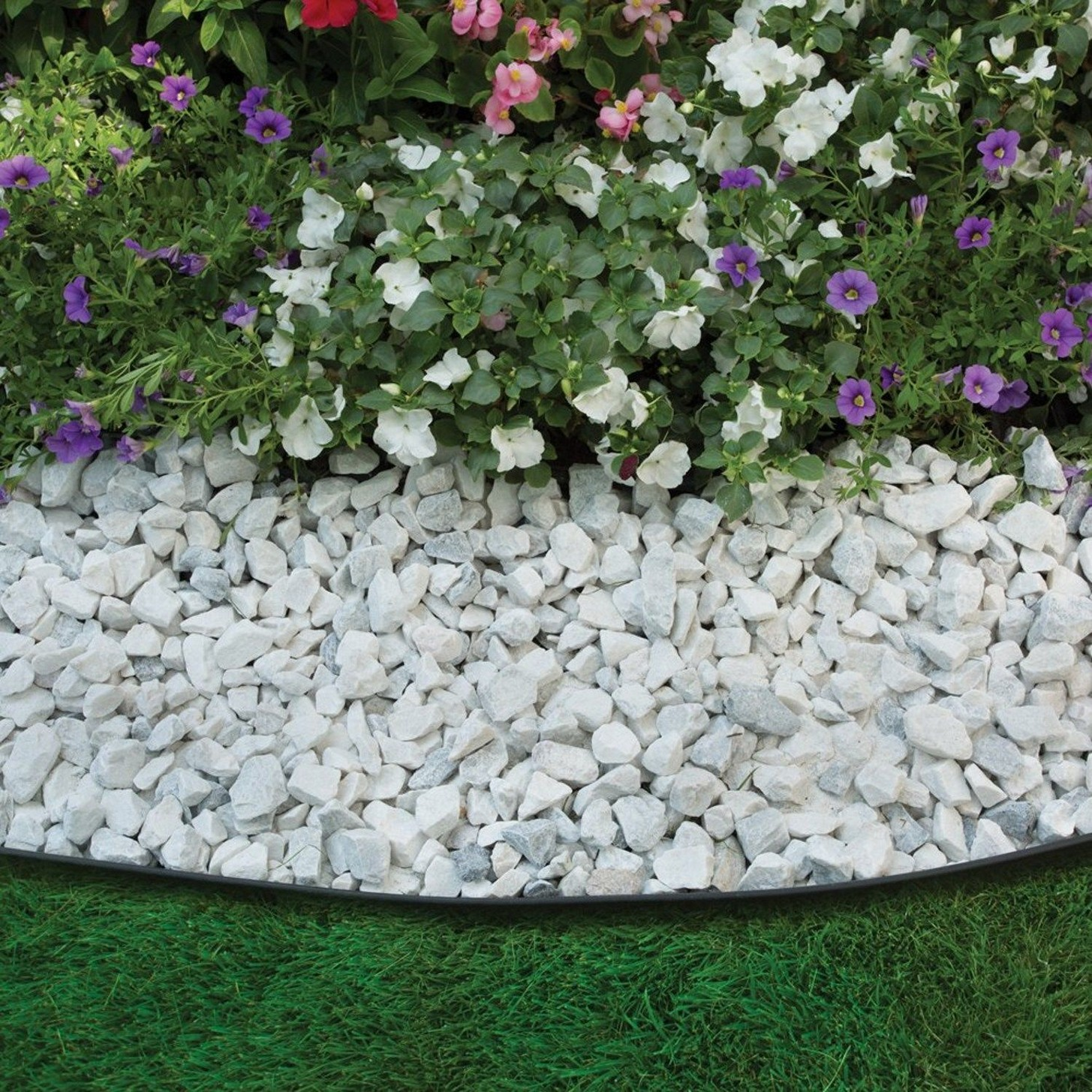 Mulch Bed Ideas | Stone Edgers | Landscape Edging Ideas