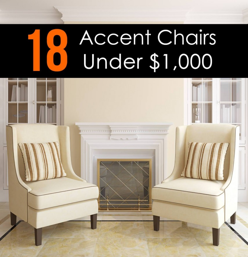 Mustard Accent Chair | Chairs Under $100 | Accent Chairs Under 100