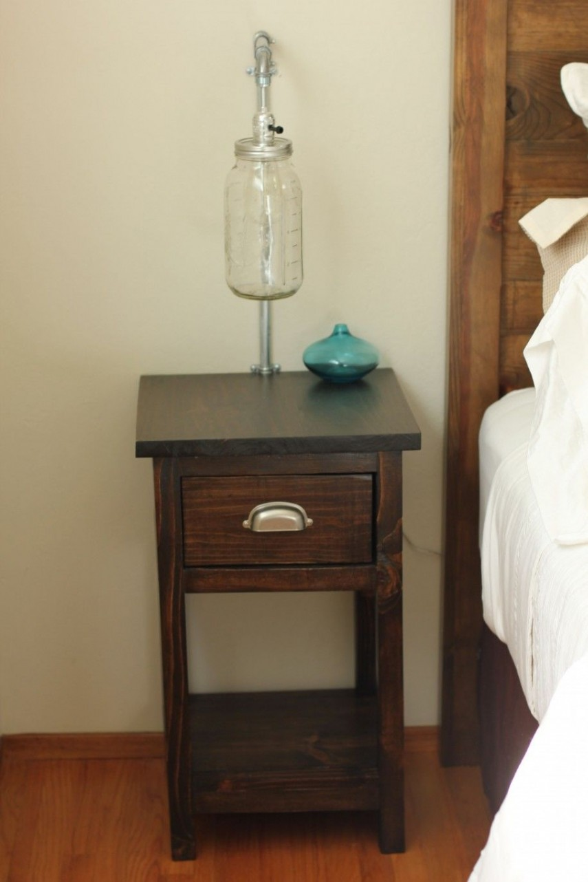 Narrow Nightstand | Nightstands Ikea | Skinny Nightstand