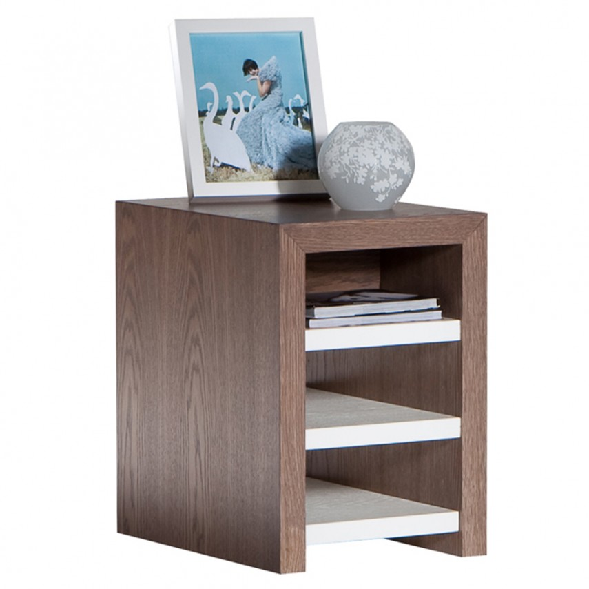 Narrow Nightstand | Side Table With Drawers | Narrow Nightstand