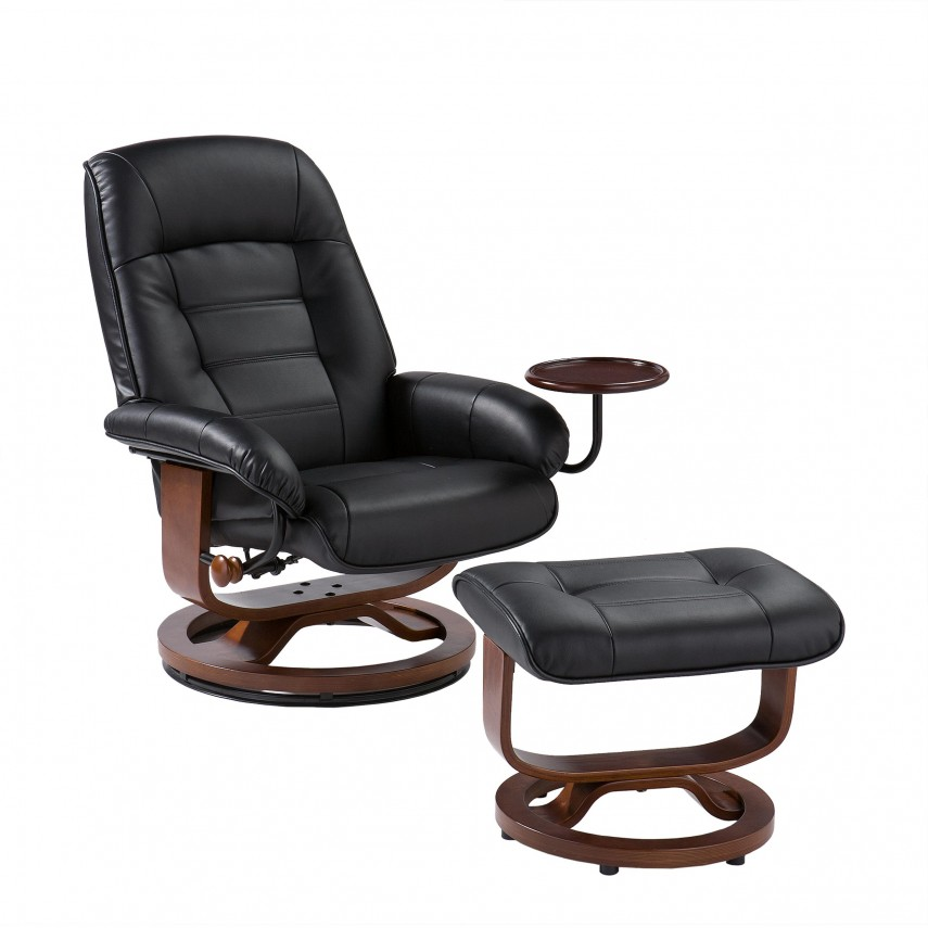 Navy Armchair | Pottery Barn Chairs | Leather Chair And Ottoman