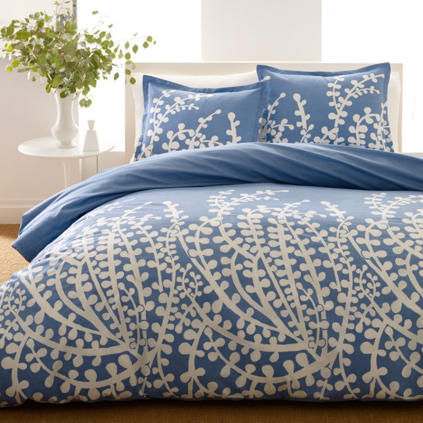 Navy Blue Comforter | Bed In A Bag Full | Twin Bed Set