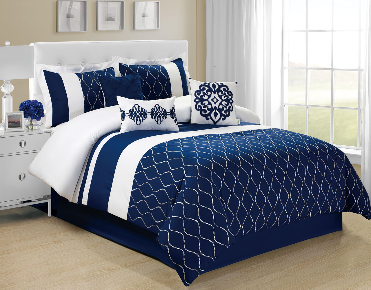 Navy Blue Comforter | Bedspreads at Target | Target Bed Sets