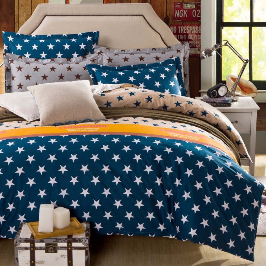 Navy Blue Comforter | Discount Comforter Sets | Queen Comforter Set