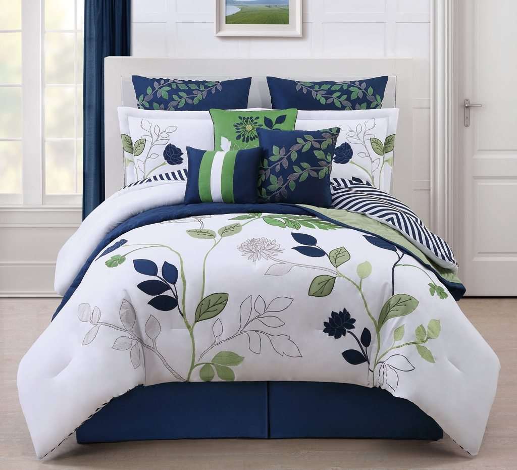 Navy Blue Comforter | Pink Full Size Comforter Sets | Mens Bedding Comforters