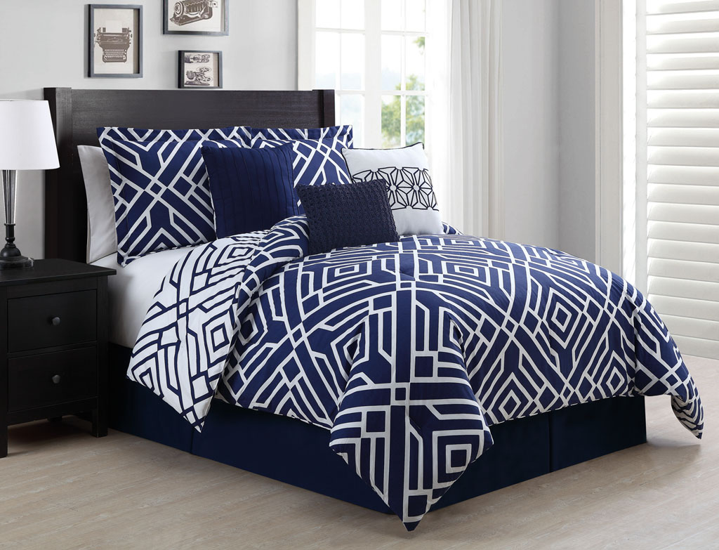 Navy Blue Comforter | Teal Comforter Sets | King Comforters