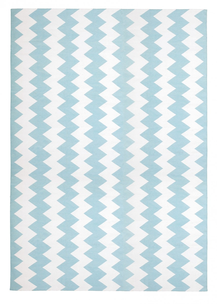 Navy Chevron Rug 8x10 | Navy Chevron Outdoor Rug | Chevron Rug