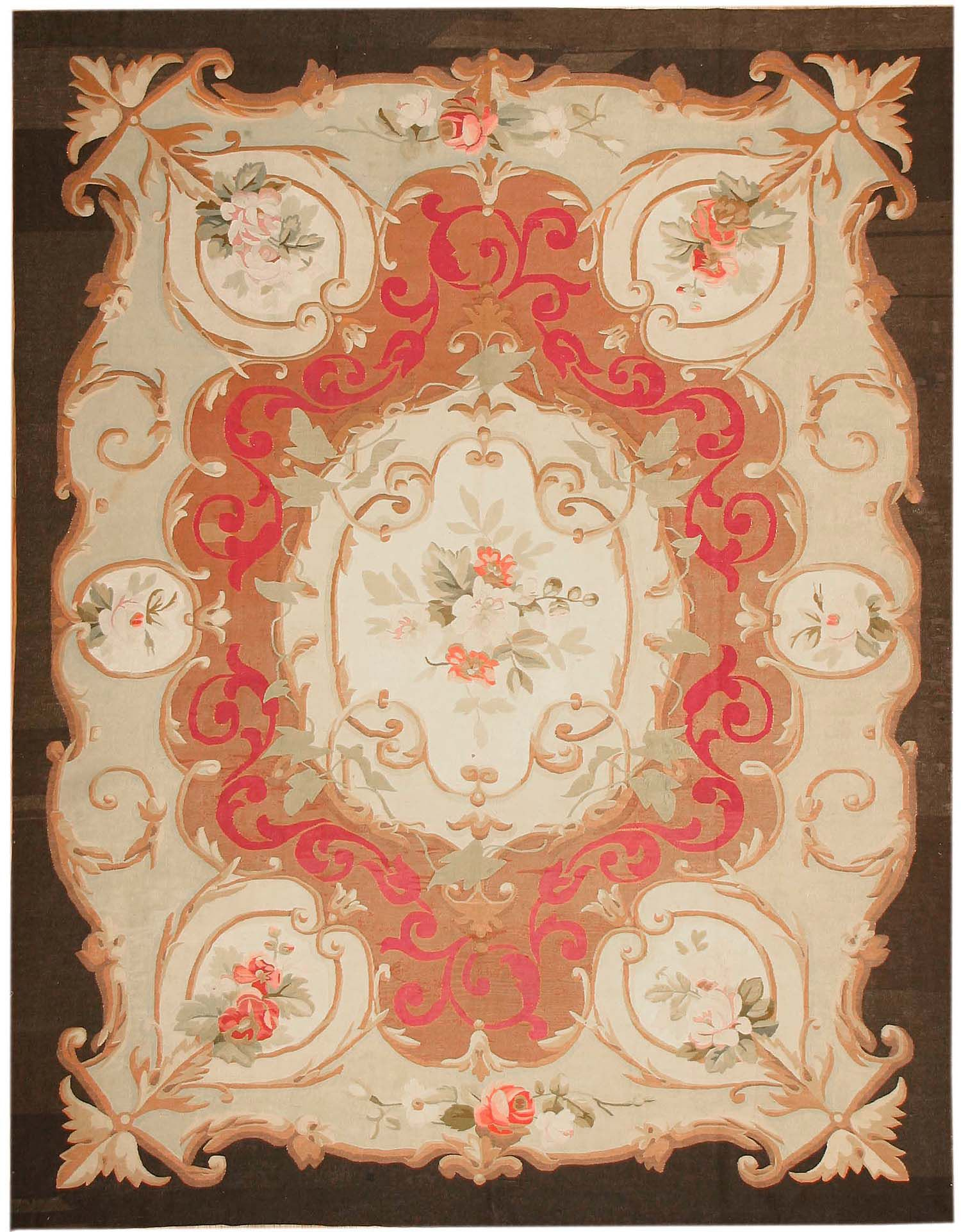 Decor Make Your Floor More Amusing With Aubusson Rugs For Decoration Ideas Stephaniegatschet Com