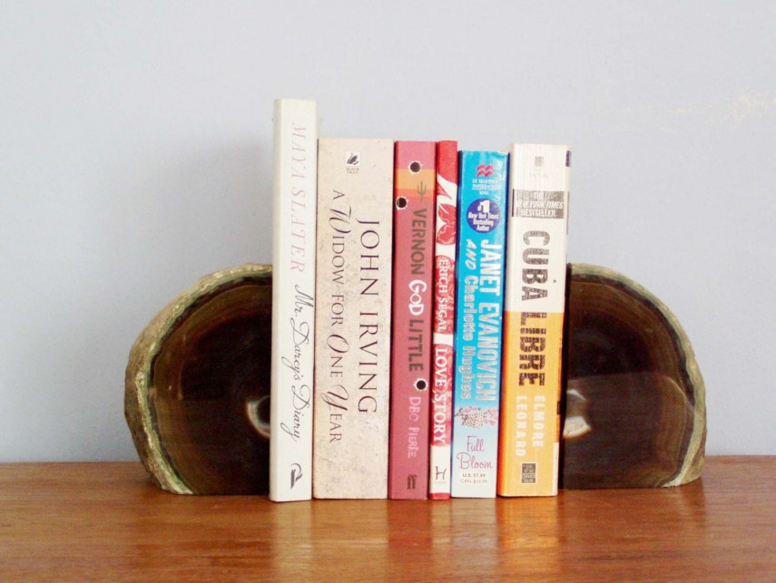 Nice Geode Bookends | Outstanding Crystal Book Ends Designs