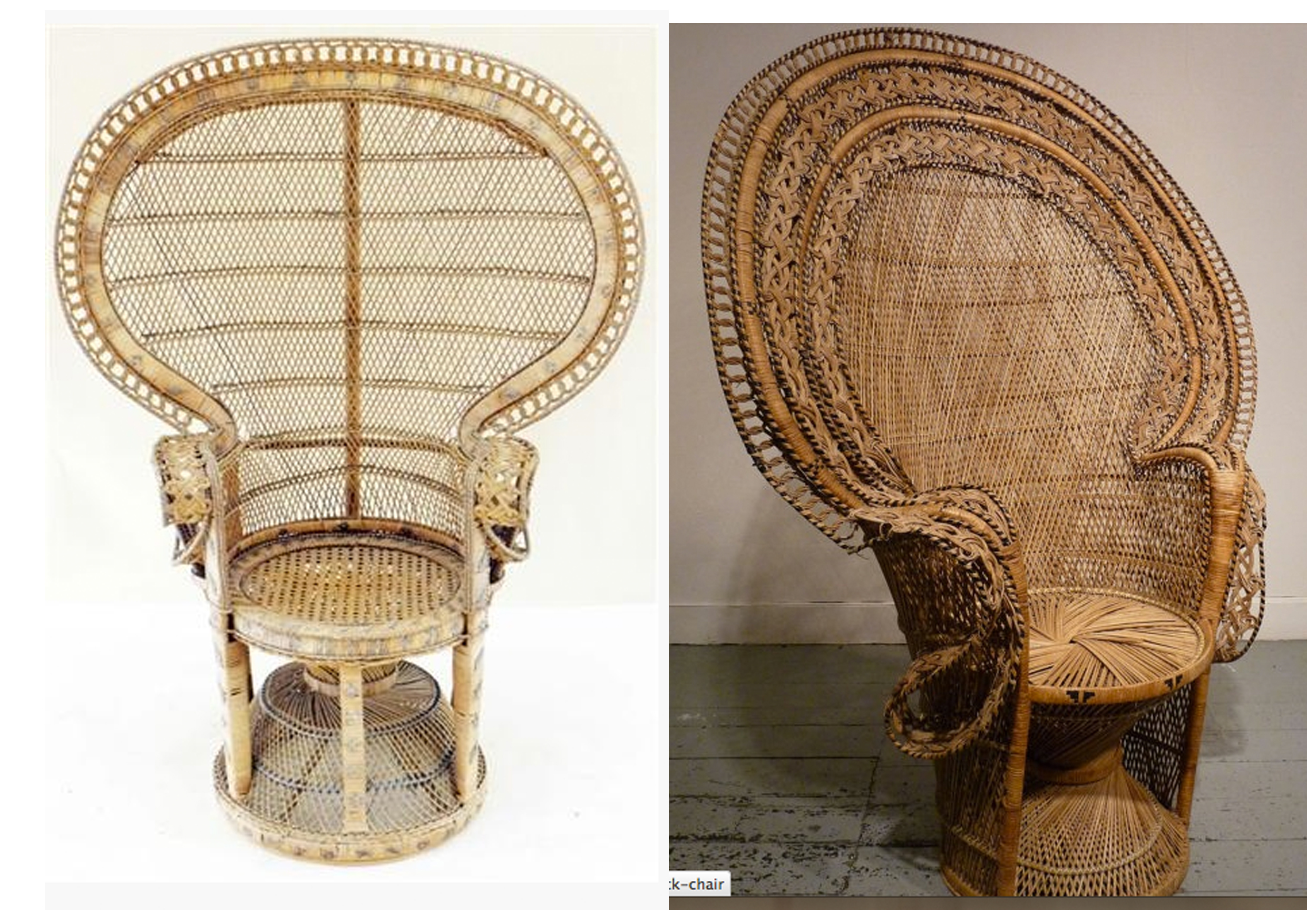 Nice Peacock Chair | Marvellous Wicker Peacock Chairs