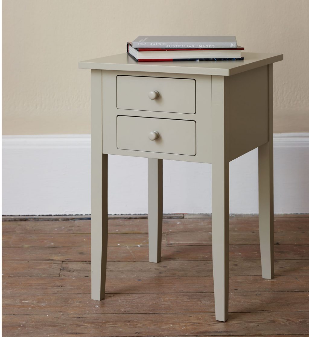 Nightstand with Baskets | Target Bedside Table | Narrow Nightstand