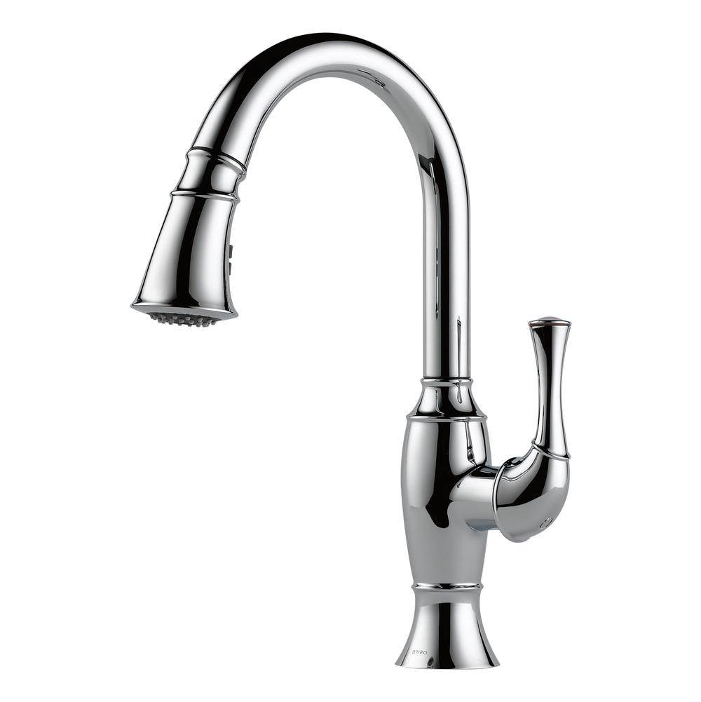 No Touch Kitchen Faucet | High End Plumbing Fixtures | Brizo Kitchen Faucets