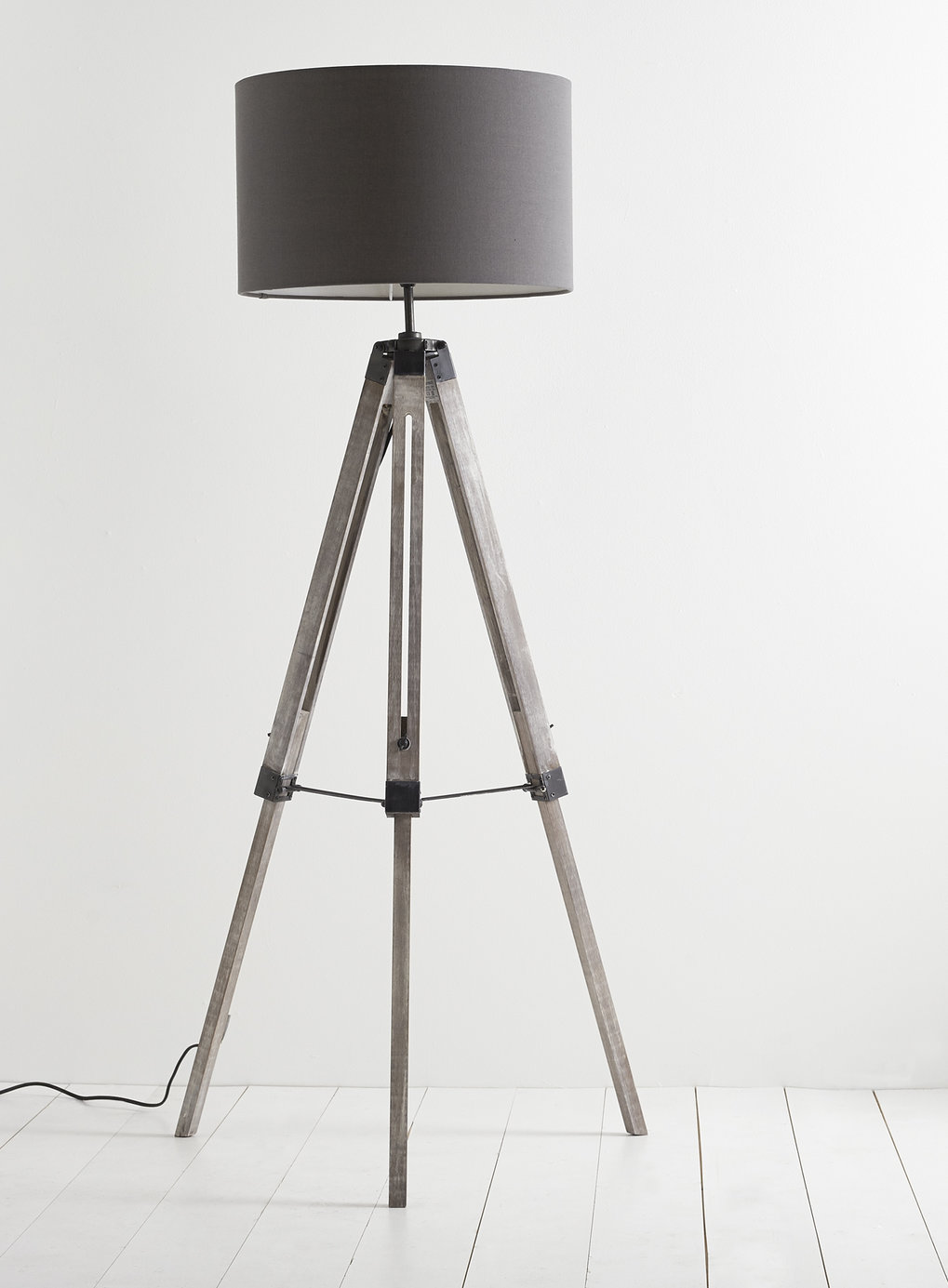 Oak Tripod Lamp | Floor Lamps Tripod | Tripod Lamp