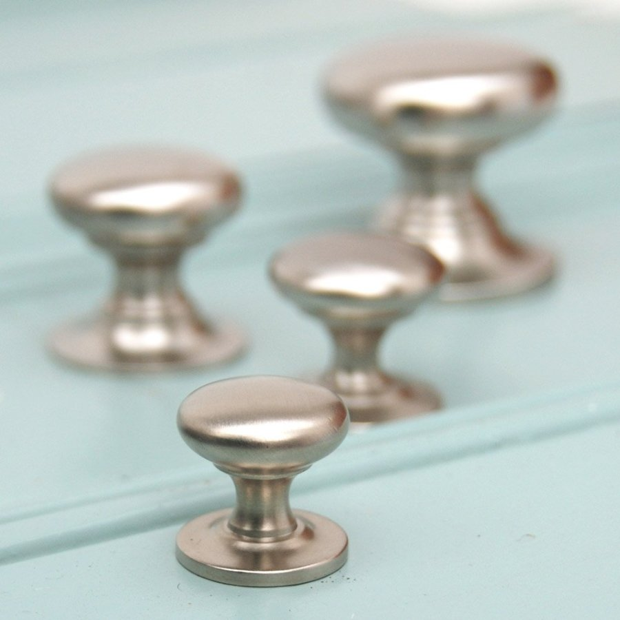 Decor Cool Brushed Nickel Door Knobs For Furniture