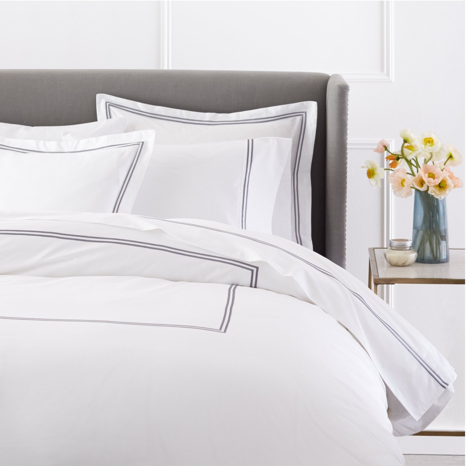 Using White Duvet Cover Queen for Gorgeous Bedroom Decoration Ideas: Organic Duvet Cover | Queen Duvet Cover | White Duvet Cover Queen