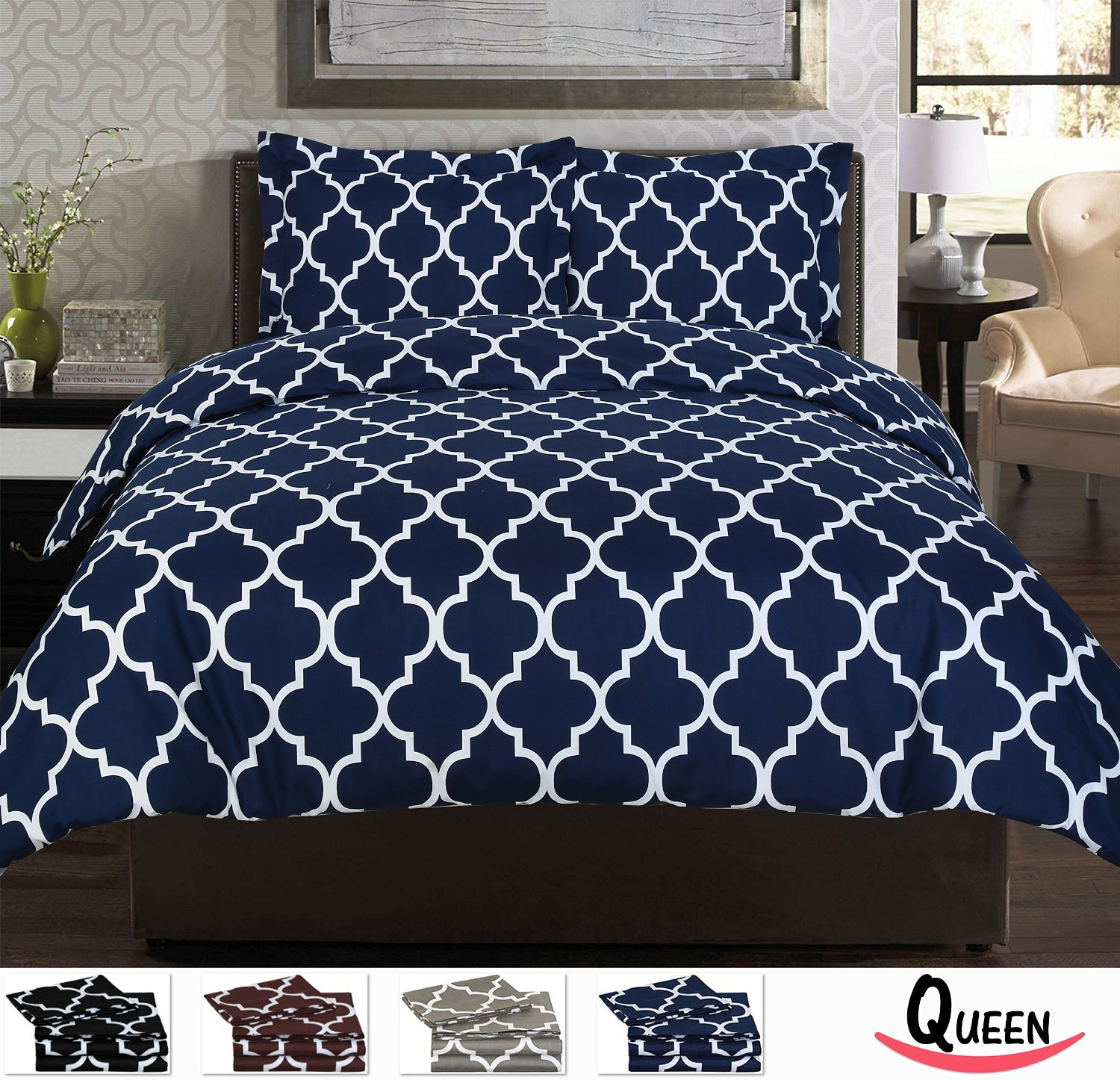 Organic Duvet Covers Queen | Black Queen Duvet Cover | Queen Duvet Covers