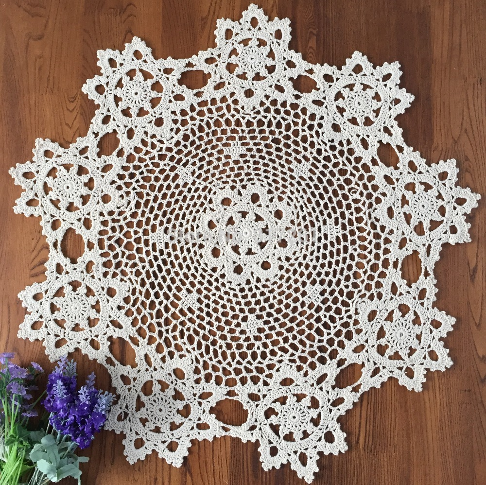 Oval Lace Tablecloth | White Lace Tablecloth | Lace Tablecloths