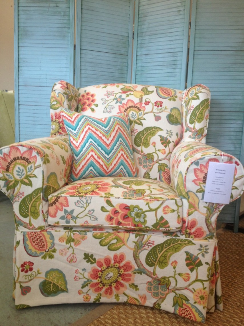 Oversized Chair Slipcover | Recliner Slipcovers | Sure Fit Ottoman Covers